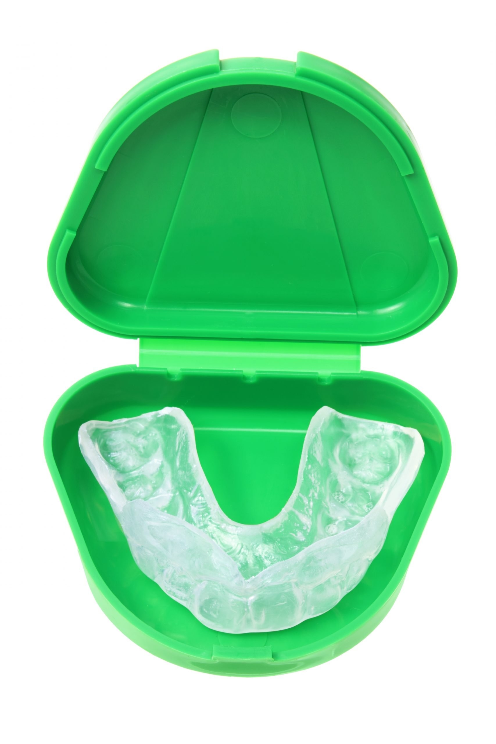 mouthguard in container